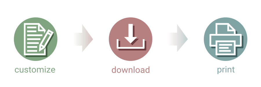 Customize Download Print